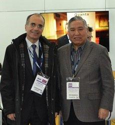 Konstantinos Farris y Ricki Chavez-Munoz