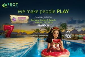 EGT Interactive will debut in Mexico at CGS 2018