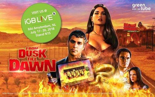 Greentube presents From Dusk Till Dawn at inaugural iGB Live!