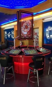 Win Systems installs its first Gold Club Chinese Roulette