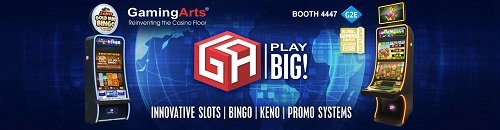 Gaming Arts to showcase exceptional line-up at G2E