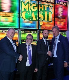 Casinò di Venezia hosts European premiere of Aristocrat's Helix Tower