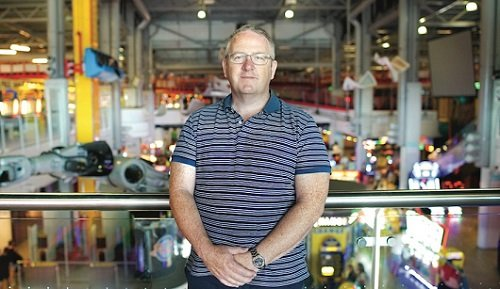 Gambling Commission Chief Executive, Neil McArthur