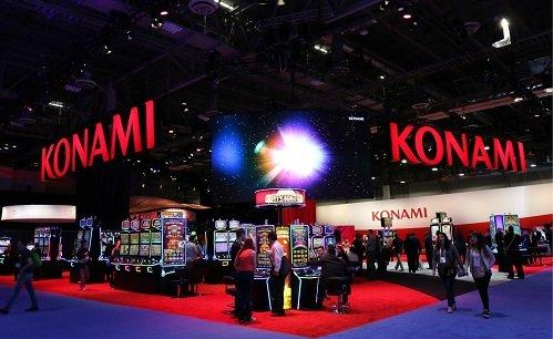 Konami Booth