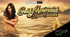 MGA Games aterriza en FADJA con Gold Mermaids