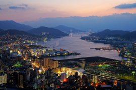 Oshidori and Mohegan Gaming bid for the Nagasaki IR License