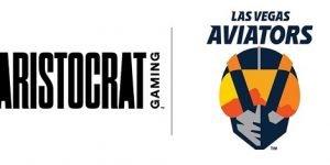 ARISTOCRAT Gaming™ named an Official Partner of Las Vegas Aviators®