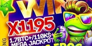 BGaming – Elvis Frog Mega Jackpot: Lucky player grabs $110K