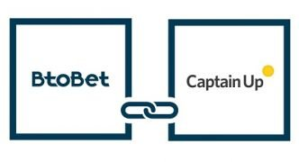 Btobet and Captain Up partner to gamify sportsbetting and casino
