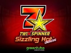 GREENTUBE doubles the heat with Twin Spinner Sizzling Hot™ deluxe