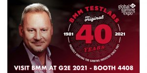 BMM Testlabs celebrates its 40th year of operations at G2E 2021