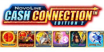 NOVOMATIC features NOVO LINE CASH CONNECTION™ Edition 2
